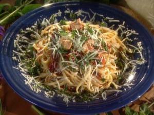 Prosciutto Garlic Chicken Pasta